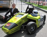 Jaco_Reijerkerk with FORZE student FCH car